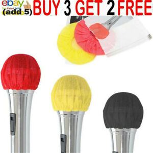 Disposable Microphone Windscreen Cover Protective Mic Pop Filter Caps Removjh
