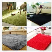 8 Sizes 7 Colors Bathroom Living Room Bedroom Floor Mat Cover Carpets Rugs