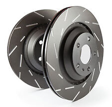 EBC Ultimax Front Vented Brake Discs for VW Lupo 1.0 (98 > 99)