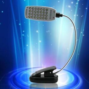 Flexible USB Clamp Clip On LED Light Craft/Reading Table Desk Bedside Lamp u s