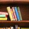 5 VINTAGE STYLE BOOKS Miniature Books Dollhouse 1:12 Scale PROP Fill Bookshelf