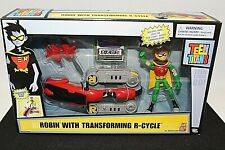 New listing Teen Titans Robin figure with Transforming R-Cycle