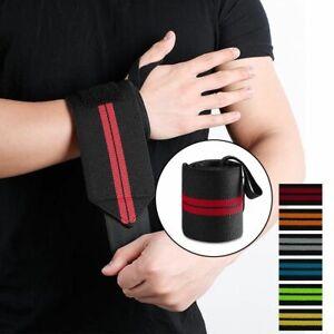 Adjustable Sports Wrist Brace Injury Wrap Bandage Support Gym Strap Wristband AU