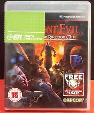 RESIDENT EVIL OPERATION RACOON CITY (ENG+ITA) [Playstation 3 PS3 2012] U