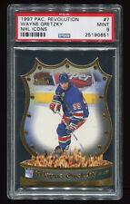 1997 Pacific Revolution NHL Icons Wayne Gretzky #7 PSA 9