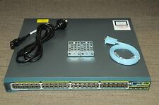 Cisco WS-C2960S-48LPS-L 48-Port Gigabit Ethernet PoE Managed Switch 180DaysWty
