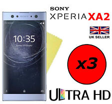 3x HQ ULTRA CLEAR HD SCREEN PROTECTOR COVER FILM GUARDS FOR SONY XPERIA XA2