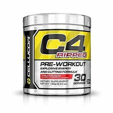 Cellucor C4 Ripped Pre-workout 30 Servings Fruit Punch 01-2020