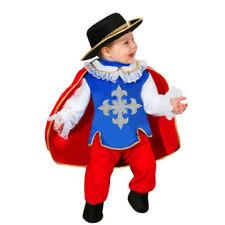 Vestito Costume Moschettiere 7/9 Mesi Carnevale Pegasus Party