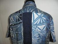 vintage Alpenland shirts Hemd crazy pattern Viskose 90s gemustert XXL