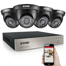 ZOSI HD 1080N 8CH HDMI DVR 1500TVL IR Outdoor CCTV Home Security Camera System