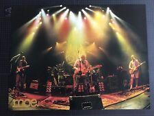 moe. jam band moe. Palladium 2001 Live Photo Xl poster Rob Derhak Al Schnier