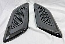 Land Rover OEM Range Rover Sport 2014+ Hood Vent Louvre Pair Black On Matt Black