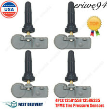 4 X New 13581558 13586335 TPMS Tire Pressure Monitoring Sensor For Chevy GM US