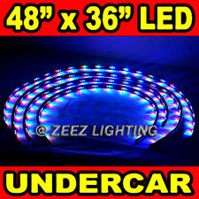 LED Neon Strip Under Car Glow Light Tube Undercar Underbody Underglow Kit C96