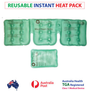 NEW! Heat Packs, TGA APPROVED AUSTRALIA, hot pack, Great For Neck Pain, heat pad