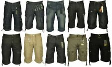 Cotton Blend Cargo, Combat Regular Shorts for Men