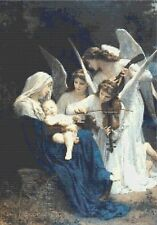 ANGELS LULLABY - COUNTED CROSS STITCH CHART