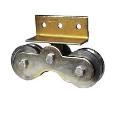 Rollwagen mit D=75mm + Rollen Tor Doppelrollwagen Rolle