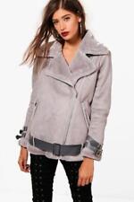 Manteaux et vestes gris en fourrure pour femme taille 38