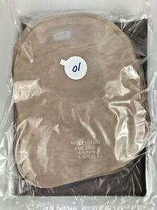 """10 Hollister 18392 Closed Mini Pouch Filter 1-3/4"""" Flange w/ 10 Disposal Bags"""