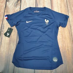 Nike France Women's National Team Soccer Jersey. Women's Size: Large