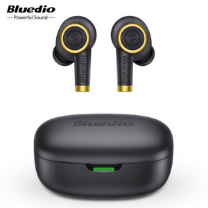 Bluedio Particle Bluetooth Earphone Waterproof Stereo Mic True Wireless Earbuds