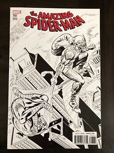 AMAZING SPIDER-MAN #797 1:1000 ROMITA SKETCH VARIANT MARVEL COMICS VF/NM