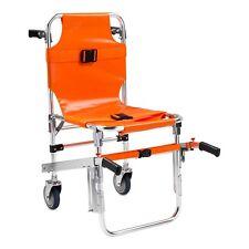 Line2design Stair Chair Ems Medical Emergency Evacuation 2 Wheel Lift Orange