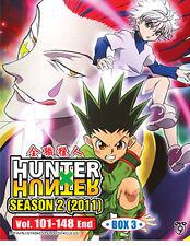 DVD Hunter x Hunter 2011 Season 2 Box 3 Vol. 101 - 148