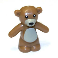 "Lego Mini Teddy Bear ""No. 1"" - Approx 2.1cm Tall - 99595 4652796 - NEW"