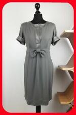 Gorgeous Grey Dress Simona Barbieri Twin-Set Size L