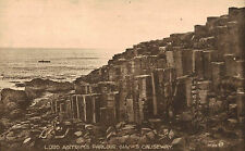 Giants Causeway,No.Ireland,Lord Antrims Parlor,Co.Antrim,Used,2 Eire Stamps,1927