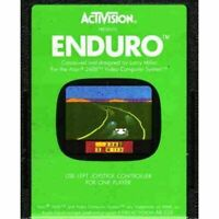 Enduro - Atari 2600 Game Authentic