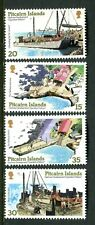 1978 Pitcairn Islands Harbour Development - Muh Complete Set of 4 Stamps