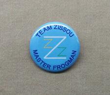 "Team Zissou Master Frogman 1.25"" button Life Aquatic Steve Z Wes Anderson Murray"