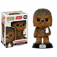 Figura Funko POP Star Wars CHEWBACCA con PORG 195