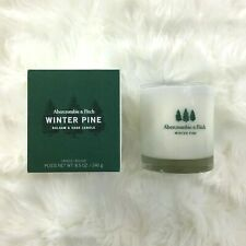 Abercrombie & Fitch Winter Pine Balsam & Sage Candle Brand New