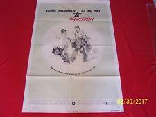 SCARECROW 1973 Orig. 1 SHEET MOVIE POSTER AL PACINO GENE HACKMAN
