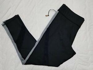 1 NWT TAIL WOMEN'S PANTS, SIZE: LARGE, COLOR: BLACK/GRAY (J118)