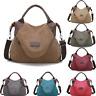 Women Handbag Shoulder Cross Body Large Pocket Casual Canvas Large Capacity Bags