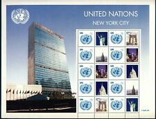 UN - NY . 2008 Greetings Personalized Sheet of 10+labels (94c) Mint Never Hinged