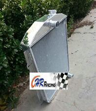 Aluminum cooler radiator for CHEVY HOT/STREET ROD 350 V8 1938 manual