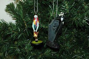 Jack Skellington and Sally, Halloween, Nightmare Before Christmas Ornament Set