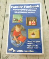 Little Lambs Family Funbook Photo Album Storybook Pattern
