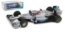 Spark s3042 Mercedes Amg W03 Monaco Gp 2012-Michael Schumacher 1/43 Escala