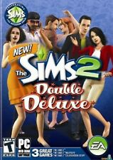 The Sims 2 II Double Deluxe PC Games Windows 10 8 7 XP Computer celebration