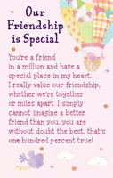 Our Friendship Is Special Heartwarmers Keepsake Credit Card & Envelope Gift