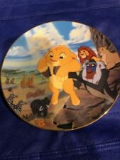 Bradford Exchange Circle Of Life Lion King Numbered Collectors Plate