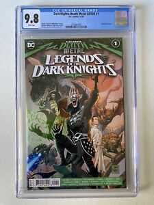 Dark Nights: Death Metal Legends Of The Dark Knights 1st Robin King CGC 9.8